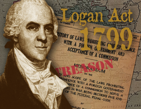 Violating Logan Act