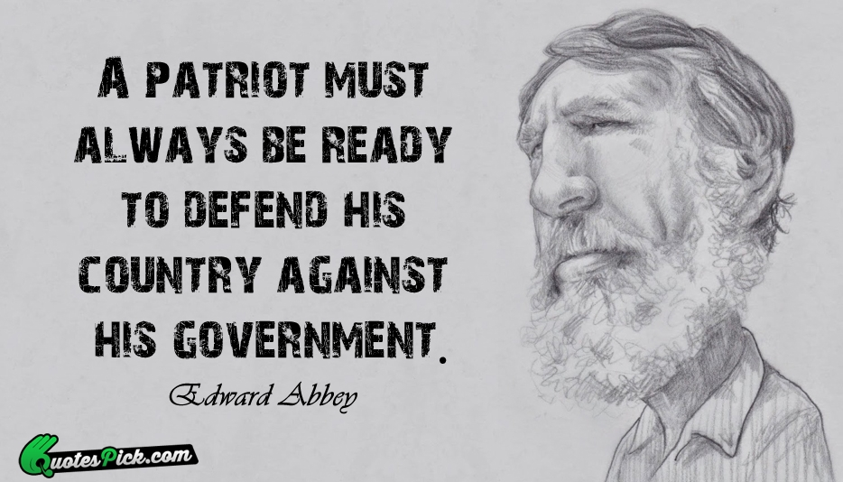 Freedom, Patriotism