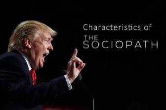 """Characteristics of a #Sociopath"""