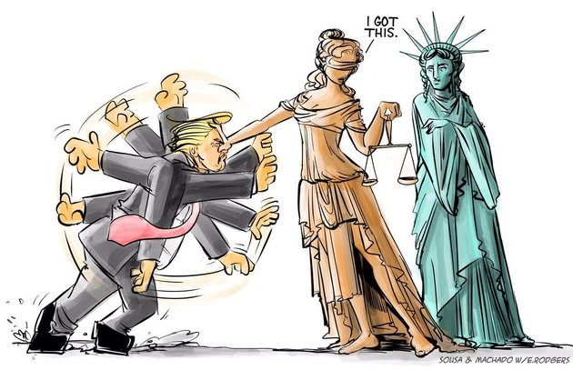 Lady Justice to the Rescue